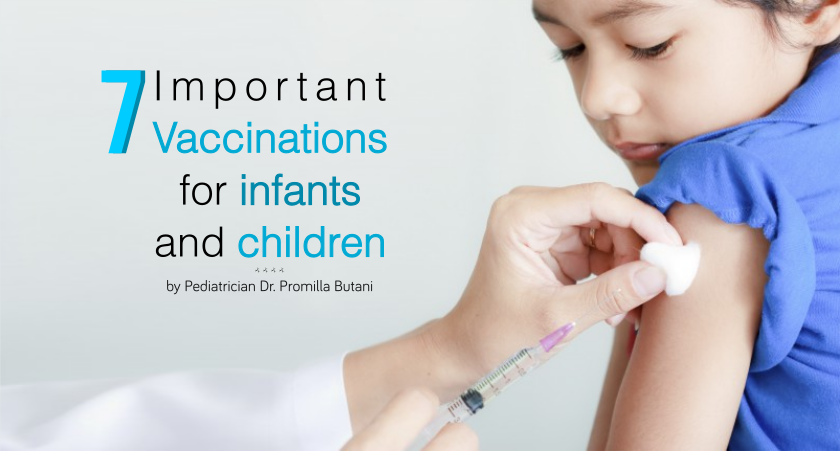 7 Important Vaccinations For Infants and Children