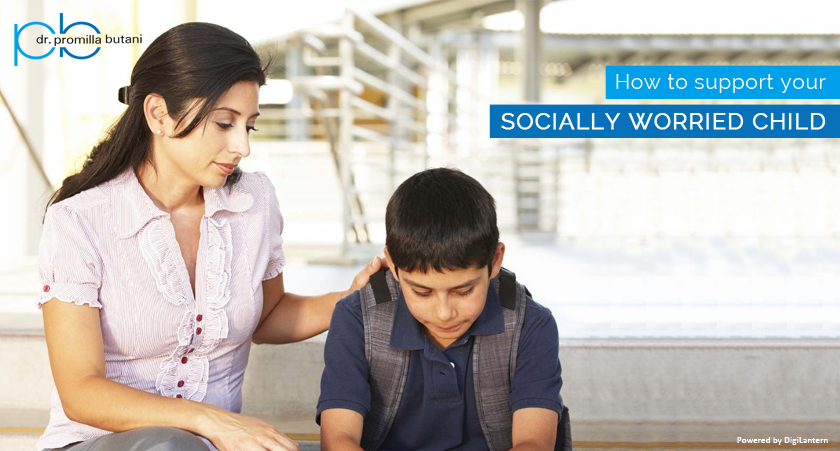 How to support your socially worried child