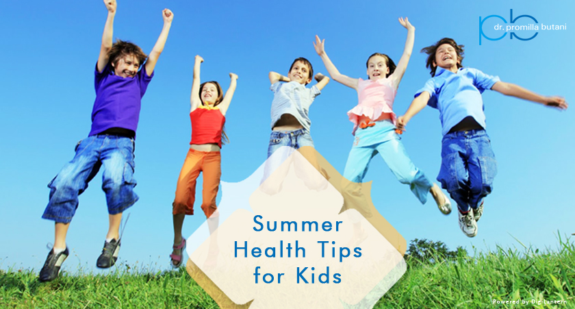 Summer Health Tips for Kids