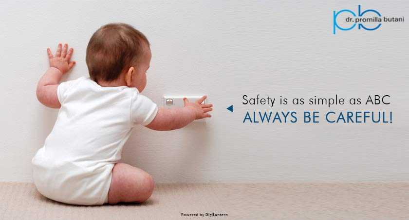 Safety is as simple as ABC – Always Be Careful!