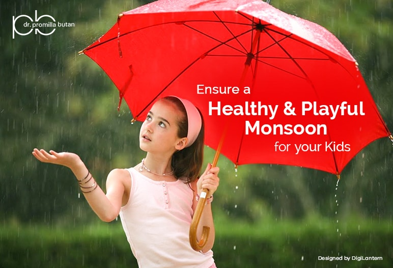 Healthy and playful monsoon for kids