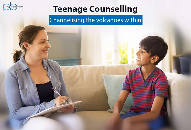 Teenage Counselling: Channelising The Volcanoes within