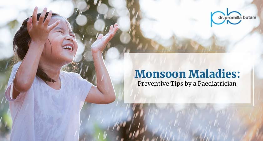 Monsoon Maladies: Preventive Tips by a Paediatrician