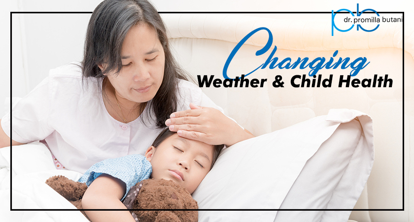 Changing Weather and Child Health