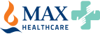 MAX Health Care Logo
